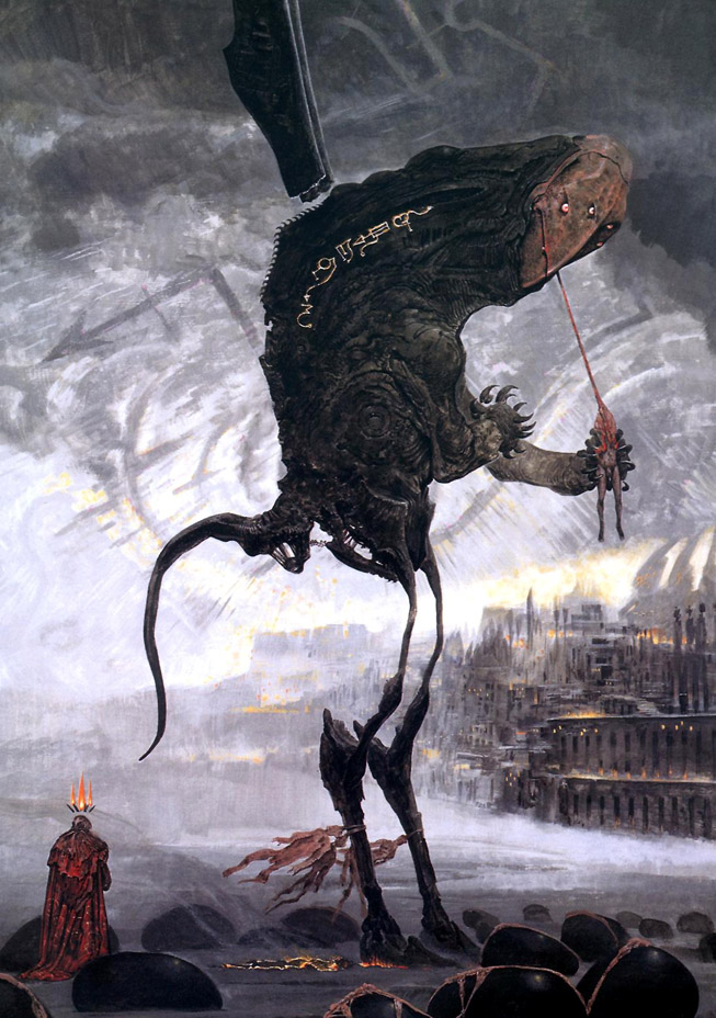 Hells first born by Barlowe